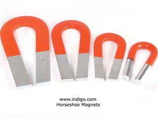 Steel-horseshoe-magnets
